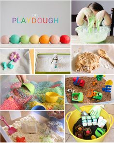 The top 10 Sensory Games you can DIY! Your kids are going to completely love each of these activities.
