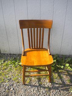 Unique antique chairs (pair)