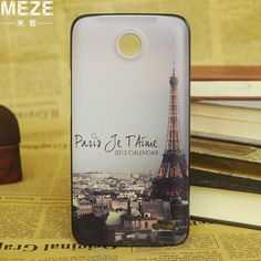 latest luxury high-end various vogue patttern colorful painting plastic brand hard case cover for lenovo a820 black side