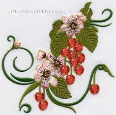 "Free Embroidery Designs, Cute Embroidery Designs   5.43""(w) x 5.43""(h)"