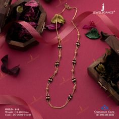 Plain Gold Mangalsutra jewellery for Women by jewelegance. ✔ Certified Hallmark Premium Gold Jewellery At Best Price Jewelry Design Earrings, Gold Jewellery Design, Pendant Jewelry, Beaded Jewelry, Gold Necklace Simple, Gold Jewelry Simple, Trendy Jewelry, Hand Jewelry, India Jewelry