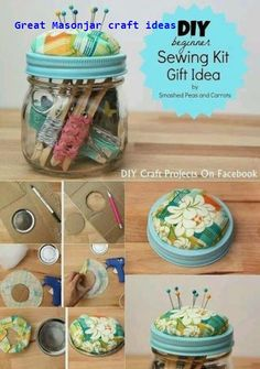 17 Creative Ways to Use Mason Jars  #diy #diymasonjar