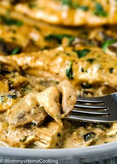 This Easy Instant Pot Chicken Marsala is one of the easiest dinner ever! It's creamy, succulent, ultra-flavorful, and easy to pull off. It comes together in about 30 minutes, which in my book, it makes it the perfect weeknight meal.