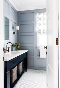 white cooper martha will vintage towels make vanity cabinet wall large choosing your shelves elegant that innovations antique mirror bathroom blue more sconce stewart wallpaper alcazar