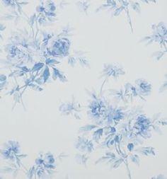 Sanderson Adele Wallpaper DCAVAD105 Indigo/Blue
