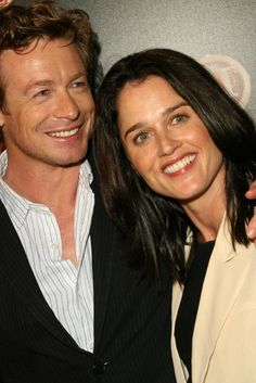 Simon Baker  & Robin Tunney  from The Mentalist