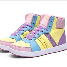 Soft sister star boots student girl sport shoes luminous free shipping