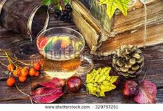 Image result for autumn tea table