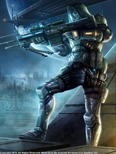 Rifleman, Advanced by Concept-Art-House.deviantart.com on @DeviantArt