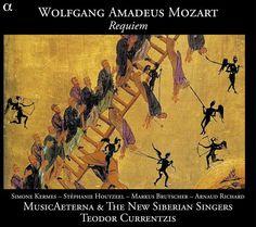 «Réquiem», Wolfgang Amadeus Mozart,  MusicAeterna La resolución, el timbre y la escena sonora de esta grabación son de auténtica referencia.
