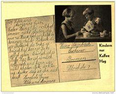 Original-Werbung/Inserat/ Anzeige 1931 - KAFFEE HAG - ca. 140 x 110 mm
