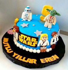 Uzay Yolu (Star Wars) Pasta. Renkli Tatlar  Butik Pasta. İletişim : 0533 668 86 80.    www.renklitatlar.com