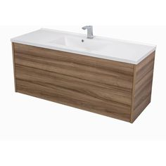"Orren Ellis Mcpeak 48"" Wall-Mounted Single Bathroom Vanity Set 