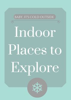15 Indoor Places to Explore | Oklahoma City Moms Blog - Places around the metro to take the kiddos when it's cold outside!