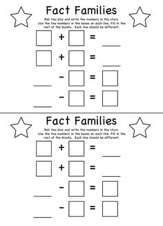 math worksheet : multiplicaiton and division fact family worksheets  educational  : Fact Family Multiplication Worksheets