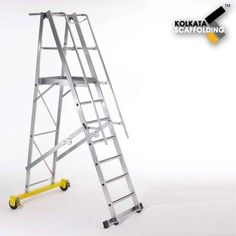 Warehouse Ladder : S.R.Engineering Corporation, leading supplier & exporter offering a comprehensive range of Warehouse Ladders. These ladders are frequently used in warehouses and in many other suitable applications. Further, these Warehouse Ladders are known for their hassle free performance. Easy to install these products are known for their reliability.