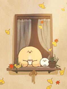 Cute Kawaii Animals, Kawaii Cute, Cute Cartoon Wallpapers, Animes Wallpapers, Bullet Journal Boxes, Pusheen Cute, Cute Pastel Wallpaper, Cute Kawaii Drawings, Dibujos Cute