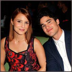 "04/03/13 Dianna and Darren at Vogue ""Triple Threats"" Dinner"