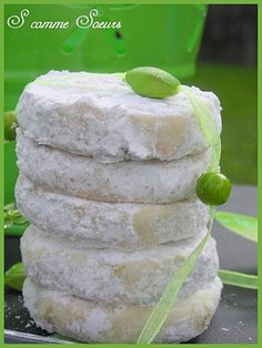lovely lime cookies