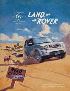 Land Rover Palm Beach is an award-winning luxury dealership offering drivers new Land Rover vehicles, along with quality used cars and certified service. New Land Rover, Land Rover Defender, Retro Ads, Vintage Ads, Hummer, Lander Rover, Land Rover Freelander, Jaguar Land Rover, Lifted Ford Trucks