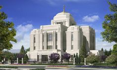 Meridian Temple Idaho