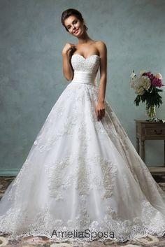 Ball Gown Wedding Dresses : Wedding dress Arcelia  AmeliaSposa