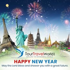 May the Lord bless and shower you with a great future. Happy New Year - #TourTravelWorld #HappyNewYear2019 #NewYears2019 #HappyNewYears #NewYear
