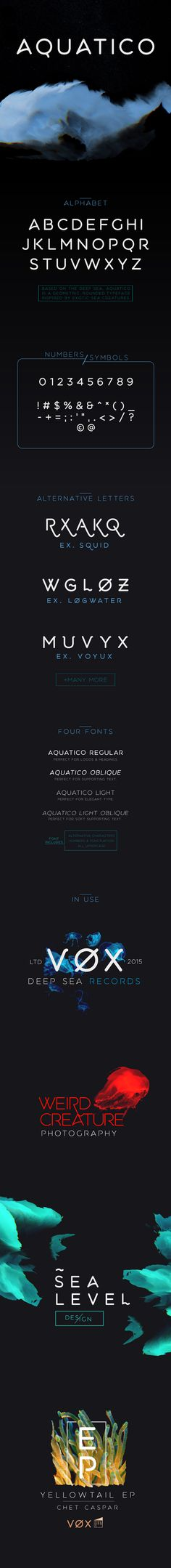 Aquatico - Free Typeface on Typography Served Calligraphy Fonts, Typography Letters, Typography Served, Free Typeface, Serif Typeface, Web Design Projects, Graphic Projects, Branding, Sans Serif Fonts