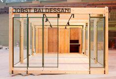 The Box – Pop-Up Stores at Bikini Berlin Kiosk Design, Booth Design, Retail Design, Store Design, Design Lab, Tiny House Cabin, Up House, Café Bistro, Pop Up Bar
