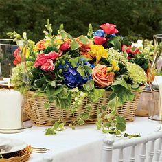 Brides Magazine: Backyard Garden Party : Wedding Reception Idea Gallery
