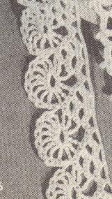 Free Crochet Patterns...Wheels edging pattern!