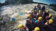 Wildwasserraften auf dem Kymijoki River