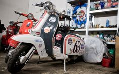 At first, the car was very primary, lacking even such primary options like a radio or perhaps a heater. This car is a good car in the lightweight category. Lambretta Scooter, Vespa Scooters, Motor Scooters, Fiat 500, Design Thinking, Cars And Motorcycles, Motorbikes, Classic Cars, Sign Writing