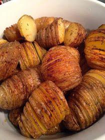 Aardappelen uit de oven, Hasselback aardappelen