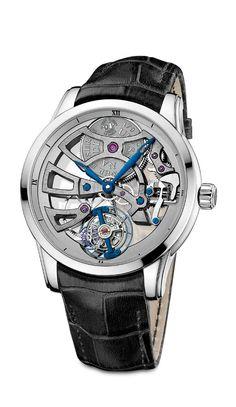 TimeZone : Industry News » N E W M o d e l - Ulysse Nardin Skeleton Tourbillon Manufacture