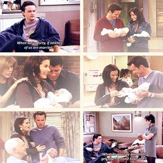 Monica & Chandler <3 ~*~Sometimes your backup plan becomes THE plan. But somehow that's what you really wanted all along.~*~SB