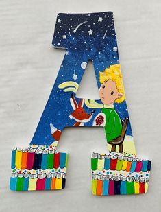 Letter Set, Letter Wall, Painting Wooden Letters, World Teachers, Storybook Characters, Alphabet Wall, Book Letters, Best Baby Shower Gifts