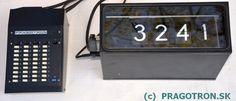 Pragotron customer calling system