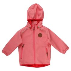 b7345e0300f Fred's World softshell jakke - Dark Coral. naturebaby.dk