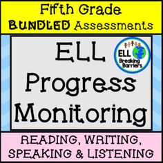 Browse over 120 educational resources created by ELL Breaking Barriers in the official Teachers Pay Teachers store. Fifth Grade, Second Grade, Teaching Character Traits, Teacher Checklist, Writing Assessment, Sentence Writing, Money Activities, Progress Monitoring, Teaching Resources