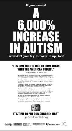 Bigger Fatter Politics: No Doubt About it: VACCINES CAUSE AUTISM!
