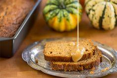 Brown Butter Pumpkin Apple Bread