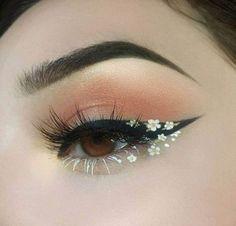 Makeup Eye Looks, Eye Makeup Art, Cute Makeup, Skin Makeup, Eyeshadow Makeup, Pink Eyeshadow, Eyeshadow Palette, Crazy Makeup, Mac Makeup