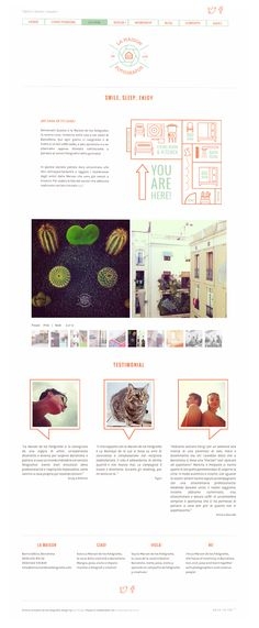 La Maison de los Fotógrafos on Web Design Served