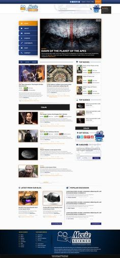 Help scientists dissect movies for fun and profit - Movie Science by Infinity デザイン