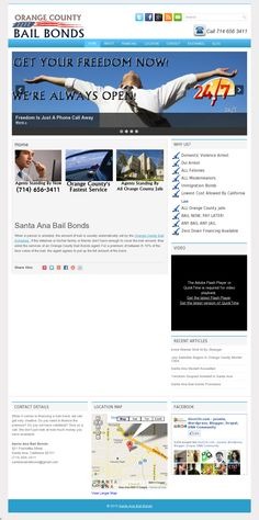Website 'http://www.santaanabailbonds.info'