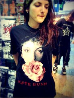 Kate Bush T-Shirt by Skalakope on Etsy