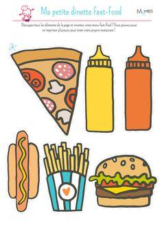 Ma petite dinette fast-food - Momes.net