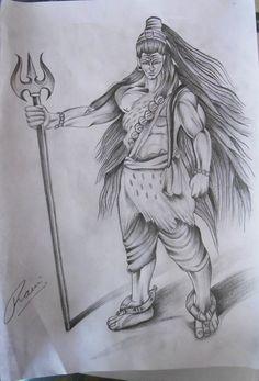 Lord shiva sketch #shiva #shivasketch #shiva #religious #black #trishul #om #lordshiva #power #lord Lord Shiva Sketch, Ganesha Sketch, Mahakal Shiva, Shiva Art, Pencil Sketches Easy, Art Sketches, Pencil Drawings, Aum Tattoo, Shiva Tattoo Design