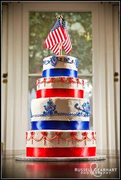 beautiful 4th of July Cake!